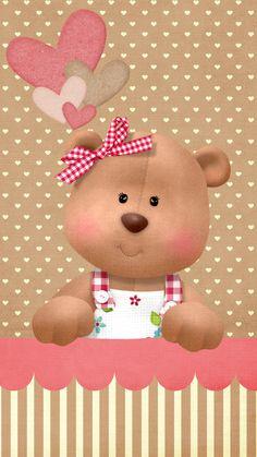 iPhone Wall - Teddy tjn                                                                                                                                                     Mais