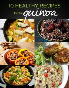 """Have you tried Quinoa yet? This """"Make it Monday"""" cook up one of these delicious recipes with the protien packed grain for a satisfying summer dinner!"""