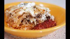 #76 - Erdélyi (Kolozsvári) rakott káposzta - Hungarian layered sauerkraut Sauerkraut, Oatmeal, Beef, Dishes, Breakfast, Desserts, Food, Youtube, Polish
