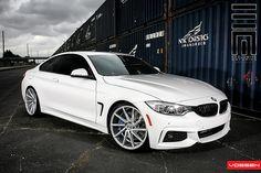 BMW 4 Series on Vossen wheels