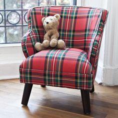 Mini Chair in Stewart Plaid