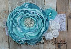 Frozen Headband Elsa Inspired OTT Couture by AubreyAnnasBoutique, $18.00