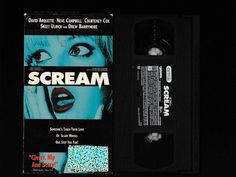 BROTHERTEDD.COM - filmie: Horror VHS tapes Drew Barrymore Scream, David Arquette, Neve Campbell, Skeet Ulrich, Vhs Tapes, Scary Movies, Horror, Cinema, Classic