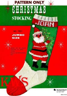 9a07e079d0e Items similar to Vintage 50 s Christmas Knit