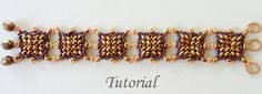 PDF for Spanish Tiles beadwoven bracelet beading  by PeyoteBeadArt, $4.99