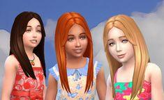 Mystufforigin: Single Hair for Girls  - Sims 4 Hairs - http://sims4hairs.com/mystufforigin-single-hair-for-girls/
