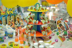 Detalhes da Decoração da Festa Subway Surfers #decoracao #subwaysurfers #festa #party