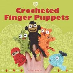 Finger puppets are a great way to entertain kids on a rainy day,and they make adorable gifts, too. And crocheters will have as much fun making these whimsical little characters as kids will have playi