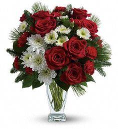 Teleflora's Winter Kisses Bouquet in Johnson City TN, Roddy's Flowers