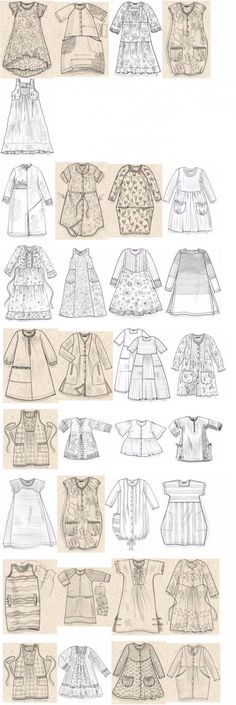 Sewing Clothes Vintage Style 31 New Ideas Dress Sewing Patterns, Vintage Sewing Patterns, Clothing Patterns, Sewing Clothes, Diy Clothes, Moda Hippie, Techniques Couture, Dressmaking, Boho Fashion