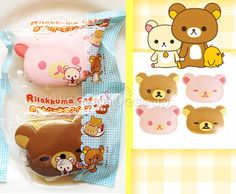 Jumbo Authentic Rilakkuma Korilakkuma Pancake in packaging squishy