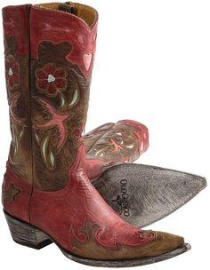 Old Gringo Golondrita Vesuvio Cowboy Boots