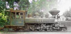 Locomotiva-911 - Hoje essa locomotiva é a n.10 aguardando restauro no pátio da Ferrovia Perus Pirapora, em Perus-São Paulo.