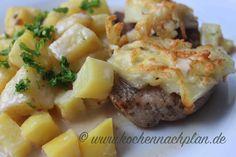 Medaillons mit Cremekartoffeln – Kochen nach Plan