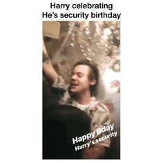 Happy birthday Harry's security In Tokyo, Japan May 14, 2018