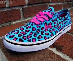 vans. Ugly colors but still they're vans so I love them.
