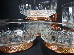 ARCOROC SALAD BOWL set vintage bowl mid by KarensChicNShabby, $69.00 Copper Candle Holders, Serving Utensils, Vintage Bowls, Large Bowl, Salad Bowls, Bowl Set, Candlesticks, Tapas, Mid-century Modern