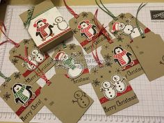 Snow Friends Christmas Tags More