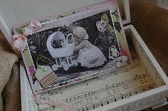 Shabby Chic box and card