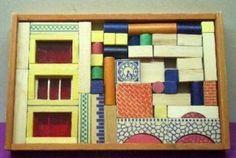 Speelgoed uit de jaren 50 tot Toy blocks from the These were my…