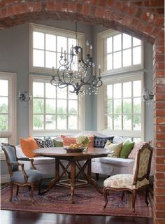 perfect nook from Design to Inspire via the entertaining house