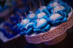 Forminha de doces feita em cetim R$1.60