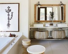 Evoke restfulness and serenity through the neutral colour pallet and natural textures chosen in our Founders Camp suite bathrooms Private Games, Game Reserve, African Design, Color Pallets, Natural Texture, Neutral Colors, Serenity, Camps, Lodges