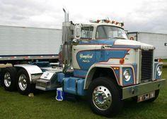 trucks Dodge  | 1974 Dodge Model CNT900 Hi-Cab Semi Truck