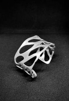 Organic Shapes, Jewellery, Sterling Silver, Bracelets, Accessories, Instagram, Jewels, Schmuck, Bracelet