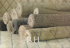 Restoration Hardware has great neutral rugs