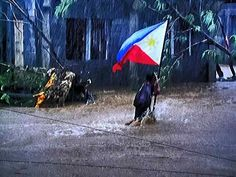"""Proud Pinoy after """"Bad Girl"""" Typhoon Yolanda hit the Philippines hard with strong winds of over 300km/h #supertyphoonyolanda #supertyphoonhaiyan #philippines #supertyphoon"""