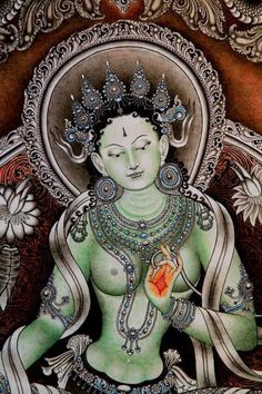 Green Tara ♥ Om Tare Tuttare Ture Svaha ♥ Om = essence of enlightenment, manifest and incarnate. Tare = quickly with boldness. Tuttare = clearing away all fear, distress and suffering of all beings. Ture = complete victory of truth over all negativity. Svaha = all accomplishments (amen).