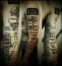 I love this. One of the coolest tattoos I've ever seen.