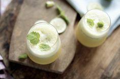 Mojito uten alkohol og med ananas