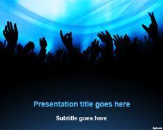 Free DJ Entertainment PowerPoint Template | Free Powerpoint Templates