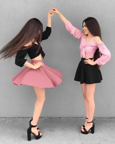 My little Princess 👑🌸 Comment 'Princess' in your language & Tag your Princess 💕 Camila. Y marisol Twin Outfits, Matching Outfits, Girl Outfits, Cute Outfits, Fashion Outfits, Girl Photo Poses, Girl Photos, Daily Fashion, Teen Fashion