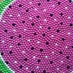 Items similar to Pom Pom heart shaped rug - pink princess girls bedroom rug - fluffy, cozy, deep pile rug - nursery decor - pompoms - acrylic & wool rug on Etsy Girls Princess Bedroom, Pink Princess, Girls Bedroom, Felt Ball Rug, Felt Ball Garland, Nursery Rugs, Nursery Decor, Pom Pom Rug, Wool Rug