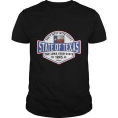 Awesome Tee TEXAS LONE STAR STATE DALLAS HOUSTON AUSTIN T-Shirts