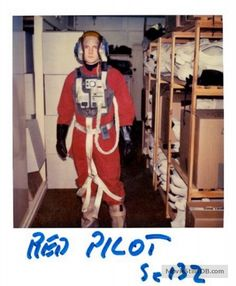 New B-Wing Pilot costume from the Star Wars Archives - 1982 Return of the Jedi Continuity Polaroids. (A Gallery of 50 Rare Continuity Star Wars Polaroids Taken From the Set of 'Return of the Jedi' ~ vintage everyday) Star Wars Characters, Star Wars Episodes, Disney Minimalist, Star Wars Set, Star Wars Models, Star Wars Pictures, Ralph Mcquarrie, Mark Hamill, Scene Photo