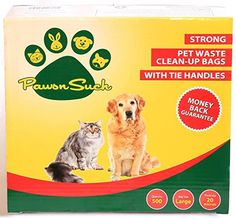 PawsnSuch Pet Waste Clean-up Bags, Green, Strong and Large in Size PawsnSuch http://www.amazon.com/dp/B00Q2ZQYDO/ref=cm_sw_r_pi_dp_k1aNvb1VCFXK3