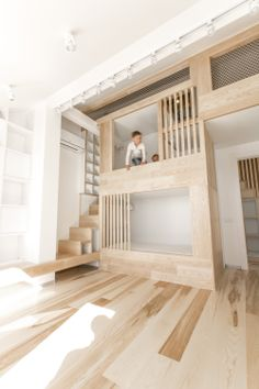 Look at picking specific sort of attic bed based on who will sleep with it. Loft bed ought to be though. Loft bed answers the requirement for additional space when keeping up a good spot. Loft Stairs, Bed Stairs, Apartment Renovation, Apartment Layout, Apartment Living, Apartment Ideas, Kids Bunk Beds, Loft Beds, Kids Room Design