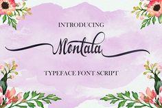 Montala script by Groens on @creativemarket