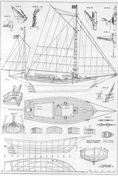 My Boats Plans - Quinze marins sur le bahut du mort.: plan spray Master Boat Builder with 31 Years of Experience Finally Releases Archive Of 518 Illustrated, Step-By-Step Boat Plans Model Ship Building, Boat Building Plans, Model Sailing Ships, Model Ships, Yacht Design, Boat Design, Model Boat Plans, Build Your Own Boat, Yacht Interior