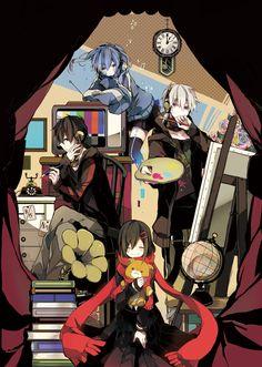 Ayano, Shintaro, Ene, & Konoha | Kagerou Project