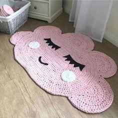 Carpet Runners By The Foot Lowes Crochet Doily Rug, Crochet Carpet, Crochet Rug Patterns, Crochet Home, Rag Rug Tutorial, Animal Rug, Handmade Rugs, Carpet Runner, Crochet Motif