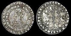 """real branco - No início do reinado de D. Duarte, em 1433, o real branco (equivalente a 840 dinheiros) tornara-se a unidade base em Portugal.  Desde o reinado de D. Manuel I (1495-1521), o nome foi simplificado para """"real"""", coincidindo com o início da cunhagem de moedas de real em cobre.  Começou a ser usada a forma """"réis"""" em vez de """"reais"""" no reinado de D. João IV de Portugal (1640-1656), após o período da monarquia espanhola em Portugal, de 1580 a 1640"""