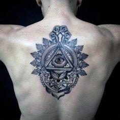 100 Illuminati Tattoos For Men & Enlightened Design Ideas > > 100 Illuminati Tattoos For Men – Enlightened Design Illuminati Tattoos For Men – Enlightened Design IdeasThere is no finer wa Tattoo Girls, Tattoo Designs For Girls, Tattoo Designs And Meanings, Arm Tattoos For Guys, Girl Tattoos, Tattoos For Women, Tattoos Arm Mann, Key Tattoos, Badass Tattoos