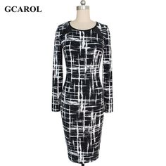 Women Geometric Pattern Pencil Dress Organza Spliced Sexy Bodycon Dress Stretch Slim High Quality Plus Size 5XL For 4 Season