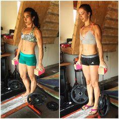 Nina Williams & Courtney Woods are training hard No Pain, No Gain #iloooveit