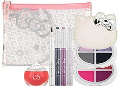 Novidades Hello Kitty:  Veja os novos kits de maquiagem da marca.